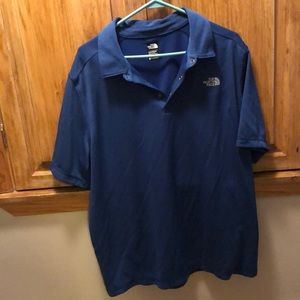 North face polo like new